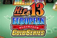 HILO 13 EUROPEAN BLACKJACK GOLD?v=2.8.6